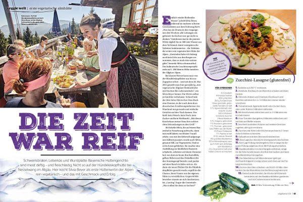 Arbeitsprobe 5 Allgäu Vegetarische Hütte